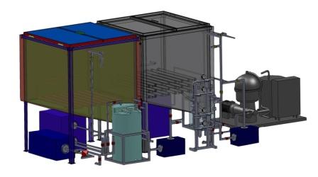 Melioform-ODT, flushing diesel fuel regeneration units