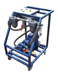 Oil filtration and pouring stations of MFZS series