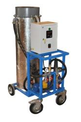 Oil heating block, BPM