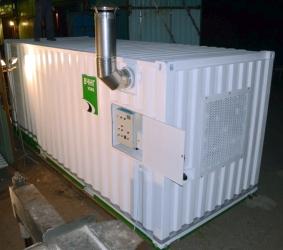 Фактор-200 со скруббером и циклоном, контейнерного исполнения
