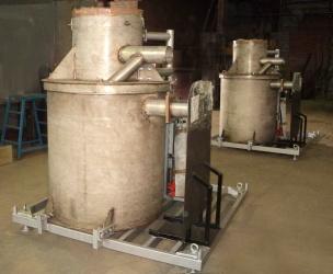 Установки Фактор-2М<br/> в транспортном состоянии<br/> перед отгрузкой