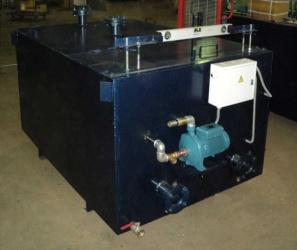 ГДС-4м<br/>Модернизированная конструкция с откачивающим отделенную воду насосом и комплектом автоматики, обеспечивающей автономную работу откачивающего насоса.