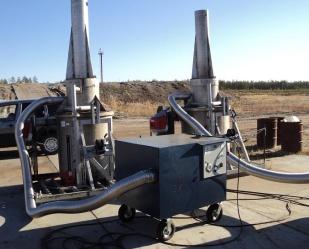 2 установки Фактор-2М на полигоне дочернего<br/> предприятия ОАО &quot;Газпромнефть&quot;,<br/> Тюменская область